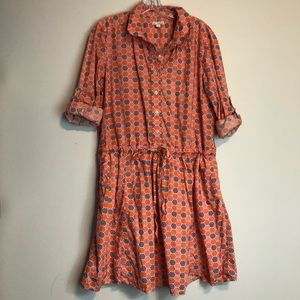 GAP Designed and Crafted Long Sleeve Dress
